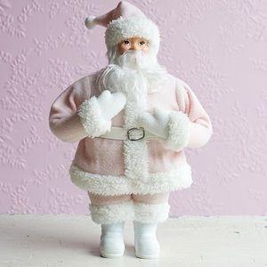 Other - Shabby chic pink Santa